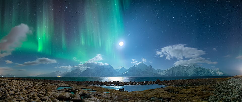 nunavut landscapes northern lights how to draw