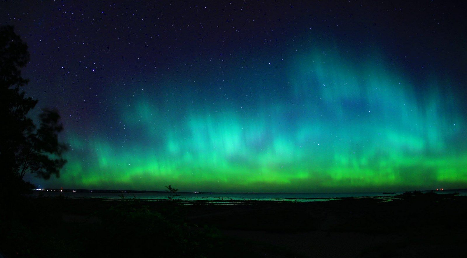 Aurora Borealis. From Traverse City, Michigan by Eric Raymond