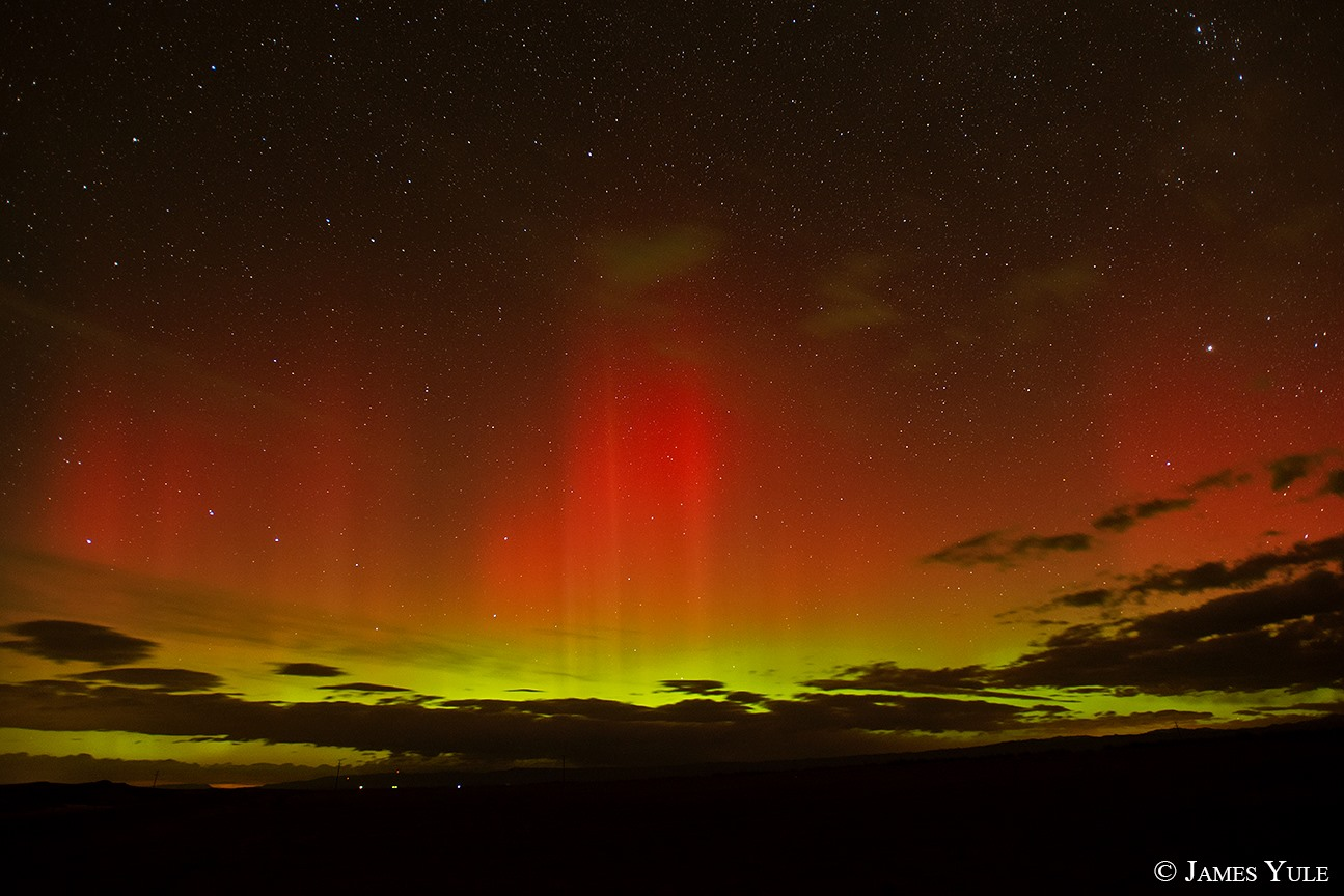 Aurora Borealis. From Washakie County, Wyoming by James Yule