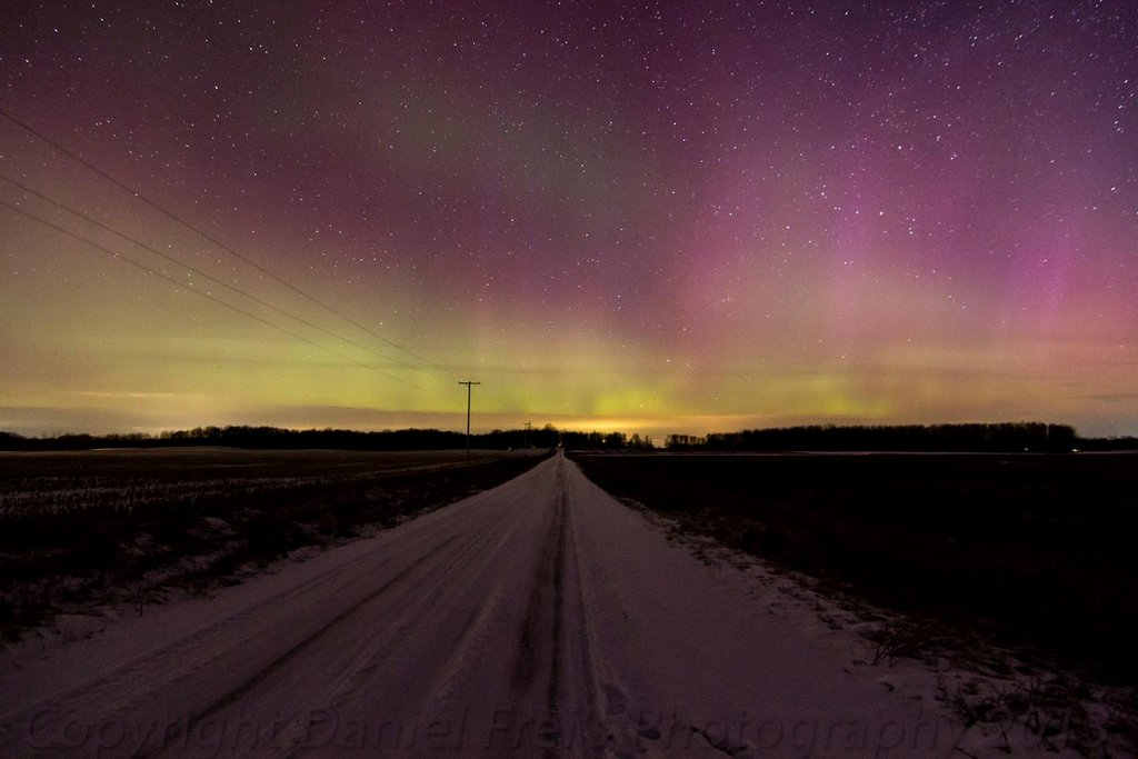 Aurora Borealis. Around the thumb area of Michigan by Daniel Frei Photography