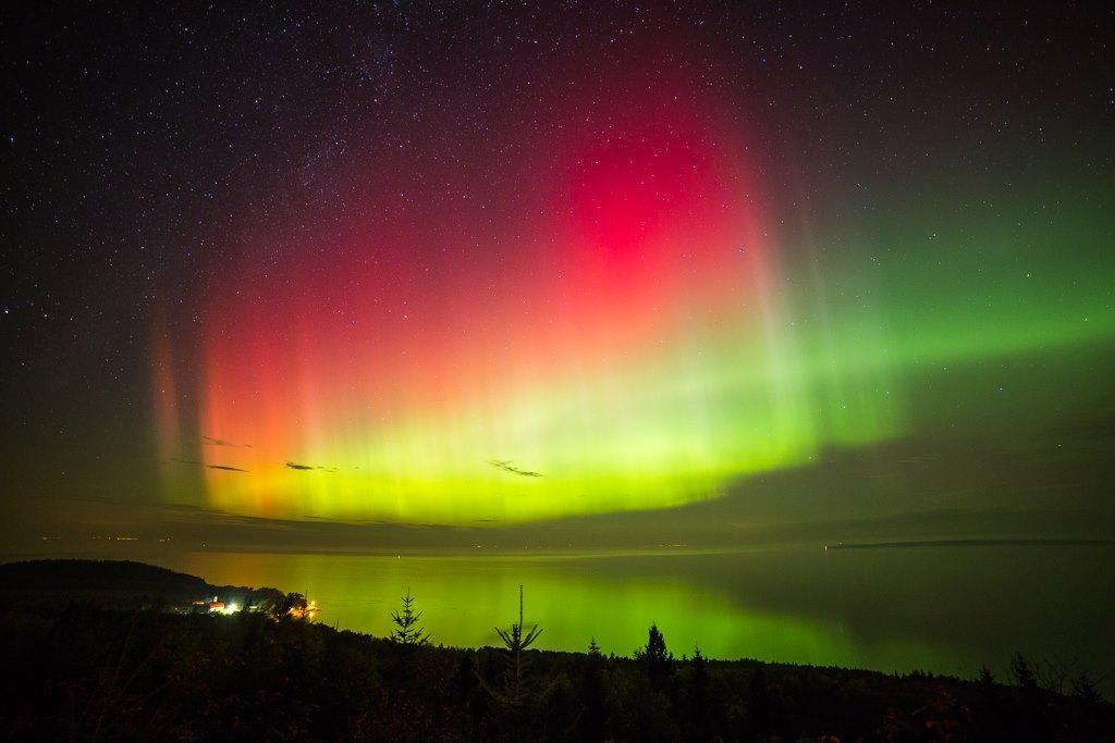 Northern Lights Rock North America
